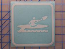 "Kayak Sticker Decal 4"" 5.5"" 7.5"" Dagger Folbot Fishing SOT Paddle Seat Rack Vest"
