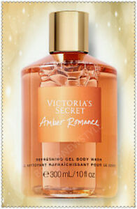 Victoria's Secret AMBER ROMANCE REFRESHING Shower GEL Body Wash 10 fl oz NEW