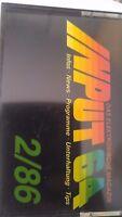 INPUT 64 C 64 Cassette 2/86 1986 (Tape) (Game)