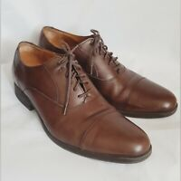 Cole Haan C204409 Madison Oxford Laceup Mens 9.5 TAN LEATHER