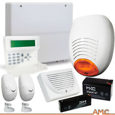 KIT ALLARME PROFESSIONALE FILARE AMC ITALIA C24PLUS GSM DOPPIA TECNOLOGIA SIRENA