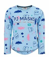 PJ Masks Girls T-Shirt Blue