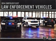 2014 Chrysler Law Enforcement Vehicles Dodge Pursuit Police Sales Brochure