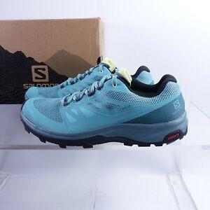 Size 9.5 Men's / Women's 10.5 Salomon OUTline GTX Hiking Shoes 412340 Waterproof
