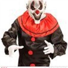 Maschere bianco Widmann in gomma per carnevale e teatro