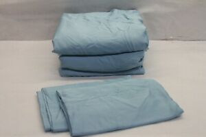 Northern Nights 100% Rayon From Bamboo Silky Smooth Sheet Set KING SPRING BLUE