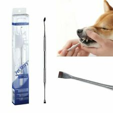 Dog Tooth Whitening Cleaning Pen Brush Tartar Remover For Grooming Tool Kit New