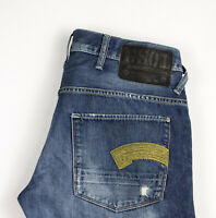 G-STAR RAW Hommes Jeans Jambe Droite Taille W36 L30 ASZ340