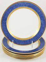 "Shoney/'s Blue Plate Special Heavy China White 9/"" Plates by Vertex"
