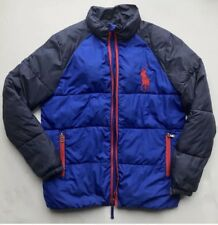 Ralph Lauren Boys Polo Puffa Puffer Winter Quilted Jacket L 14-16 needs new zip