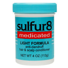 [SULFUR8] MEDICATED LIGHT FORMULA ANTI-DANDRUFF HAIR & SCALP CONDITIONER 4OZ