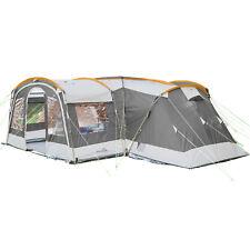Skandika Nimbus 12 Tente Camping Familiale 12 Pers. *4 CABINES* Gris NEUVE