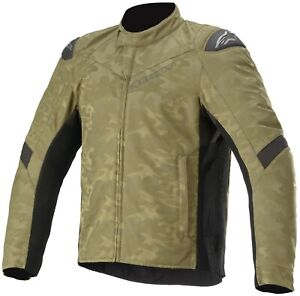 NEW Genuine Alpinestars T SP-5 Rideknit Motorcycle Riding Jacket Camo Large