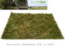 Lars op't Hof Summer Meadow Static Grass Mat Model Scenery 13.24.23 Diorama Mini