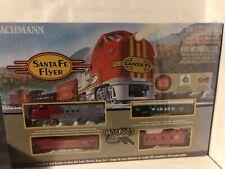 TRAIN SET SANTA FE FLYER by BACHMANN TRAINS MfrPartNo 00647,670