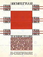 Architecture de frank lloyd wright amsterdam pays-bas ad print 12x16 pouces 1667PY