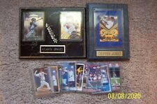 Lot of Atlanta Braves Items - Plaques and Cards