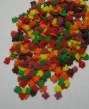 Mini Fall Leaves Sprinkles 4 oz jar