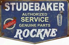 Distressed Reproduction Studebaker Authorized Service Station Sign
