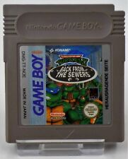 Nintendo Game Boy GB - Turtles Fall of the Foot Clan + Back from the Sewers