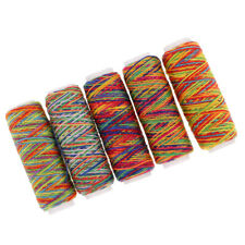 5Pcs Colorful Sewing & Embroidery Machine Thread Kit for DIY Sewing