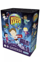 Mission Earth Board Game Age 7+ By Gibson's Rare Discontinued - Brand New Sealed
