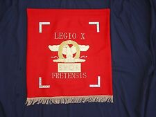Roman Legion X Fretensis vexillum standard sigma cohort legionary Israel Masada