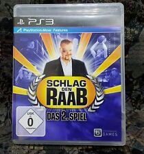 Play Station 3 Spiel PS3 Schlag den Raab - Das 2. Spiel + Anleitung