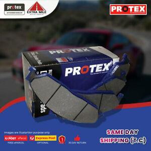 Protex Blue Brake Pad Set Front For BMW 5 Series 530 d E60 160kw Dsl 03- 10