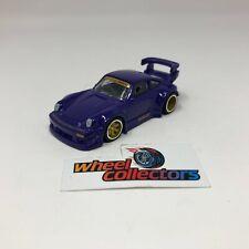 RWB Porsche 930  w/ Rubber Tires * Hot Wheels Diorama LOOSE 1:64 * F1348