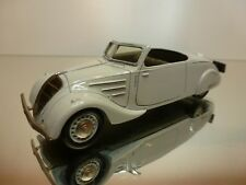 ELYSEE 532 PEUGEOT 402 ECLIPSE 1936 - WHITE 1:43 - EXCELLENT - 45/40