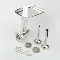 Meat Grinder Food Chopper Attachments For Kitchenaid Stand Mixer Stainless Steel