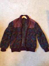 Unique vintage coat - Suede and Wool (Festival / Hip-Hop / 90's)