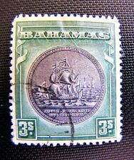 90 SEAL OF BAHAMAS CTO OG 1902  (SEE DESCRIPTION)