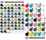 Tamiya Color X1 To X35 Gloss Acrylic & XF1 To XF86 Flat Acrylic Model Paint AU