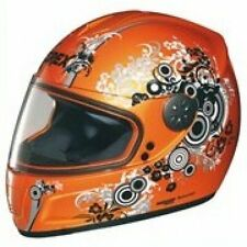 Grex Casco integrale da moto scooter R2 By Nolan Bubbles Pearl Orange L-  NUOVO