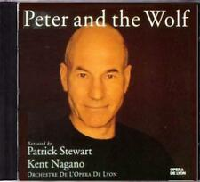 CD SALE! ~ PETER & THE WOLF ~ NARRATED by PATRICK STEWART ~ PROKOFIEV + DEBUSSY