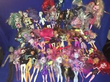 Monster High Lot 37 Dolls! Cloths Shoes For Parts Must See, Most Dressed!!! Big!