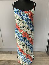 Topshop Maternity Summer Flower Cowl Neck Maxi Dress Size 10 BNWT RRP £49