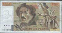 100 FRANCS DELACROIX (1978) V.1 - Billet de banque français (TTB)