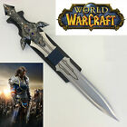 WOW Anduin Lothar Dragon Full Metal Sword with Plaque