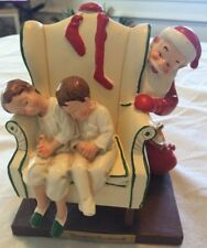 Vintage Hallmark Galleries Days To Remember Santa By Norman Rockwell