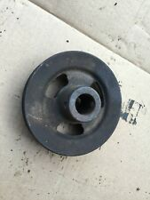 Case S Sc So Tractor Engine Crankshaft Pulley Early Style Part 5616