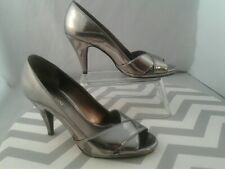 Tony Shoes Model 106 (ChromeBlack Platform Slip on) Size 6 | eBay
