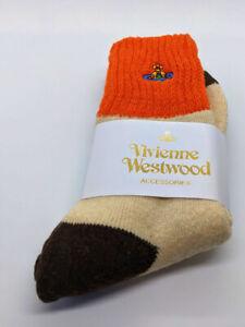 Vivienne Westwood Cotton Mid-Calf Socks - Art Design - Rare