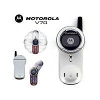 TELEFONO CELLULARE MOTOROLA V70 GSM ROSSO MONOCROMO RICONDIZIONATO.