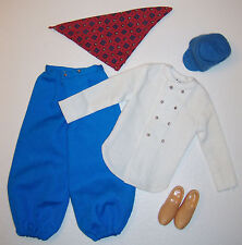Vintage Doll Travel Costume Ken in Holland 1964 #0777 #777 Hat Shoes Barbie