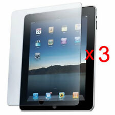 FOR APPLE IPAD 4 IPAD 3 & 2 CLEAR LCD SCREEN PROTECTOR FILM GUARD COVER SKIN X 3