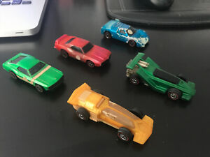 Hot Wheels Sizzlers Lot of 5 Original, Unrestored, Untested No Reserve
