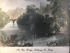 "Lady Clare Tablemat 9 3/8"" x 7 7/8""  Old Weir Bridge Killarney Co.Kerry Ireland"
